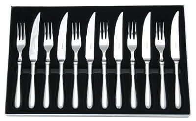 Stellar Steak Knife Set, Stainless Steel 12 Piece