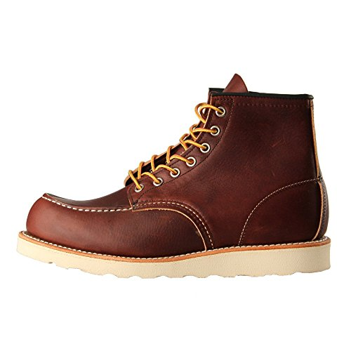 Red Wing Heritage 8138 Boots mit Moc Toe - 15 cm hoch - Herren Briar Oil Slick Braun (11) (Schuh Toe Boot Moc)
