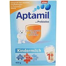 La leche Aptamil niños 1+ a partir del mes 12, 2-pack (2 x 600 g)