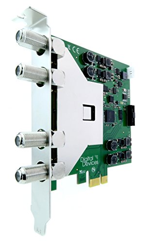 Digital Devices Max S8 TV Card PCIe Quad/Octo DVB-S2