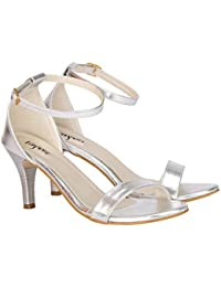 15433ae65d7 Silver Women's Fashion Sandals: Buy Silver Women's Fashion Sandals ...