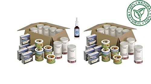 60 Tage Notvorratspaket, Intelligente Nahrungsmittelvorsorge, Lebensmittelvorsorge, Langzeit Nahrungsmittel, Notnahrung (Mindeshaltbarkeit 15 Jahre)