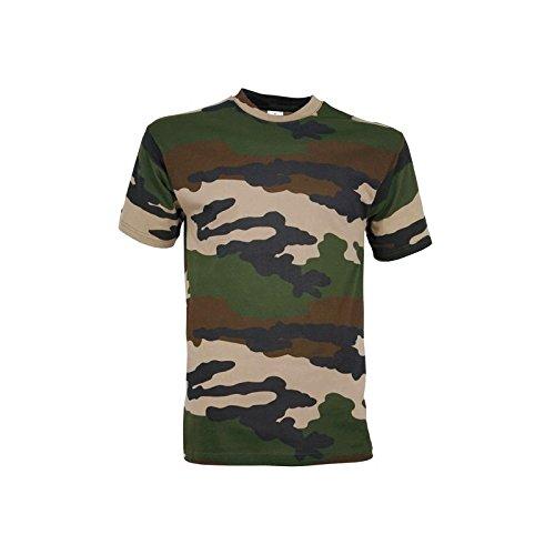 Baumwoll-city-camo-t-shirt (City Guard Herren Accessoire Camo CE Medium)