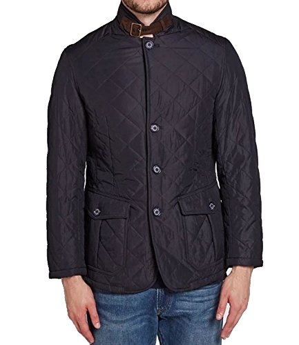 Barbour MQU0508NY71 Quilted Lutz Giubbotto Piumino Giacca Jacket Uomo Man (XL)