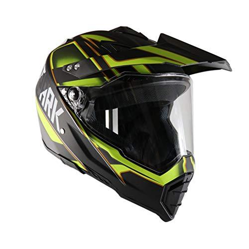 Casco, casco personalizzato, casco moto, casco da corsa, quattro stagioni, lente a doppio uso,XL