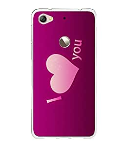 LE ECO LE 1S SILICON BACK COVER BY instyler
