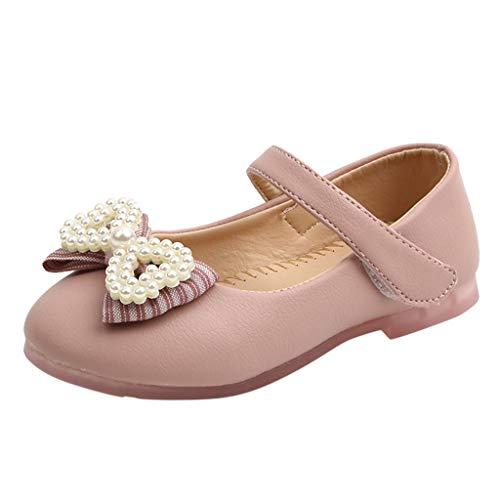 Cuteelf Kinderschuhe, Säugling, Säuglingsmädchen, Perlenschleife, einzelne Prinzessinschuhe, Kindermädchen, Perlenschleife, kleine einzelne Schuhe, Flache Schuhe