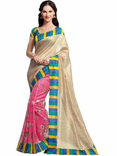 Vipul Silk Saree (11439 _Pink)