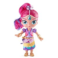 Gira il cerchietto di Shimmer, la gonna ruota e si trasforma in una coloratissima toga arcobaleno. La bambola è interattiva, infatti premendo la gemma si attivano oltre 30 frasi e canzoni. Le frasi e le canzoni sono differenti quando la genie...
