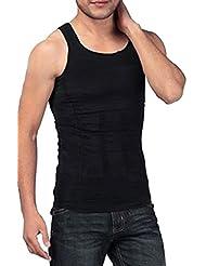 SODACODA Körperformendes Unterhemd für Herren - Kompression im Bauchbereich (S-XXL)