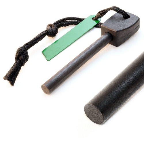Pierre de magnésium (72 mm) pour extérieur étanche, avec bloc noir