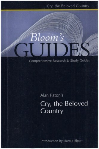 Portada del libro Cry, the Beloved Country (Bloom's Guides) by Paton, Alan (2003) Hardcover