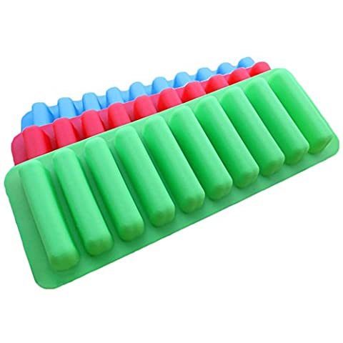 Pingenaneer Water Bottle Ice Tube Tray Ice Cube Tray with