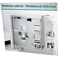 ERSTE HILFE MEDIZINSCHRANK HAUSAPOTHEKE ARZNEISCHRANK MEDIZINBOX aus EDELSTAHL preisvergleich bei billige-tabletten.eu