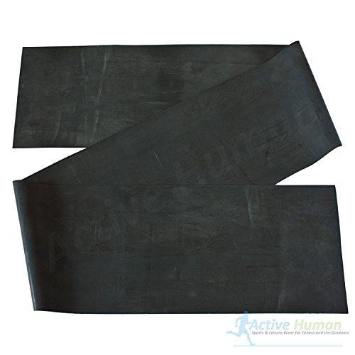 Thera-Band, 150 cm x 12,8 cm, spezial stark, schwarz, Widerstandsband, Fitnessband