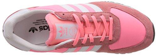 adidas Originals Adistar Racer, Scarpe da Ginnastica Donna Rosa (Pink (Light Flash Red S15/Ftwr White/Core Black))
