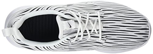 Nike Roshe One Eng, Chaussures de Running Entrainement Femme Multicolore (White/Wolf Grey/Black)
