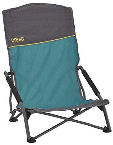Uquip, sandy xl – sedia a sdraio pieghevole con schienale alto, per esterni, spiaggia, campeggio con carico max 120 kg