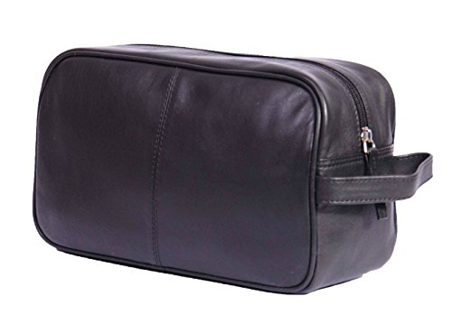 leather-wash-bag-for-mens-leather-shaving-dopp-kit-toiletries-travel-bag-hol18-black