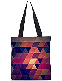 Snoogg Tote Bag 13.5 X 15 Inches Shopping Utility Tote Bag Made From Polyester Canvas - B01GCILOSU