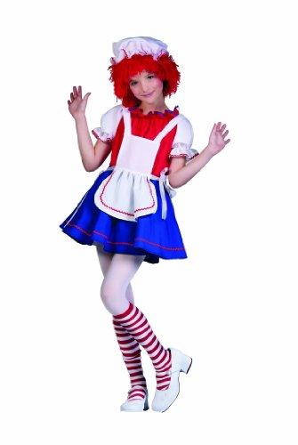 RG Costumes Rag Doll Costume, Red/White/Blue, Medium