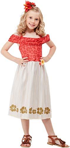 Prinzessin Kostüm Moana - Fancy Me Polynesische Prinzessin Hawaiianischer TV-Film Weltbuch Tag Woche Kostüm Outfit