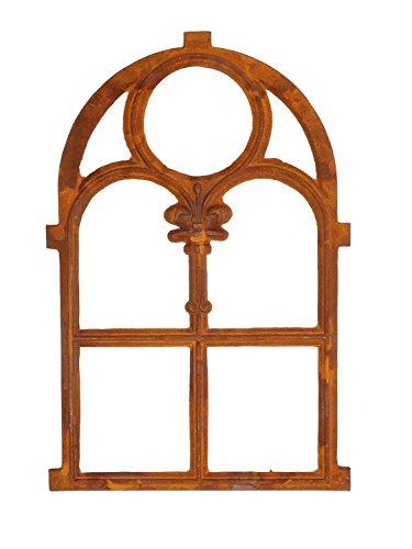 Stallfenster Eisenfenster Scheunenfenster Eisen Fenster 76x50 cm im Antik-Stil