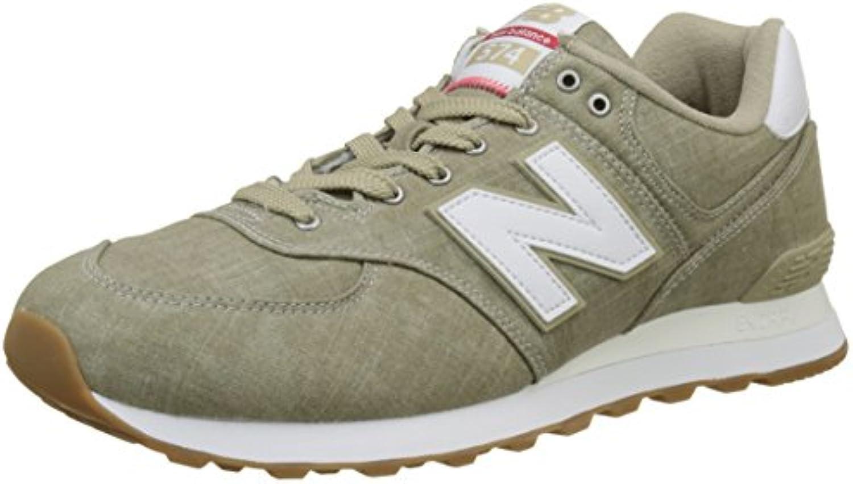 New Balance Herren Ml574v2 Sneaker  Blau