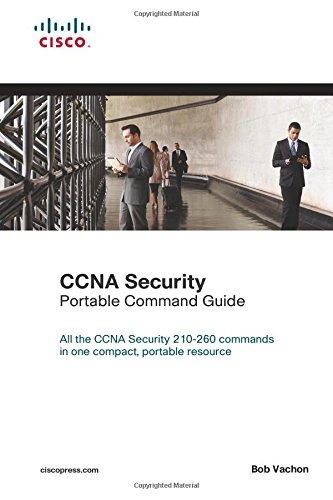 CCNA Security (210-260) Portable Command Guide por Bob Vachon