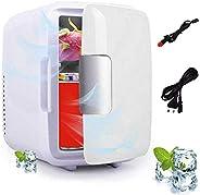 Perfuw Mini Réfrigérateur de Refroidissement et de Chauffage (Double Usage), Portable Petit Mini Frigo électri