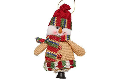 HOTOUCH Damen Midikleid Weihnachten Kleid Weihnachtsgeschenk Skater Swing Kleid Festliches Kleid 3/4 Ärmel A-Linie Kleid Weihnachtsgeschenk-Schwarz