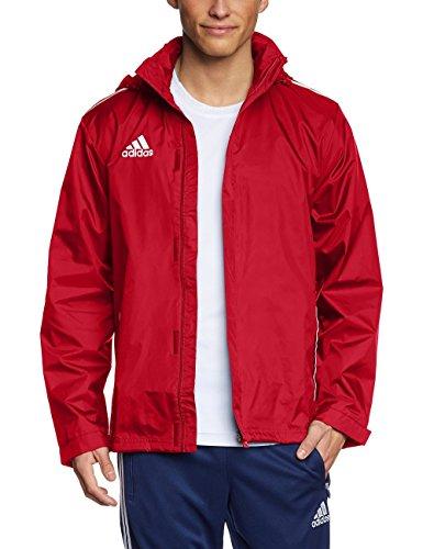hundeinfo24.de adidas Herren Bekleidung Regen Jacke Core 11, Unired/White, 9, V39445