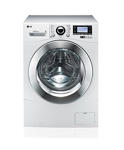 LG fh495bdn2�Independent Front Load 12kg 1400tr/min A + + + 50%, Front Load, stand-alone White Washing Machine�-�Washing Machines (White, Left, LED, Green)