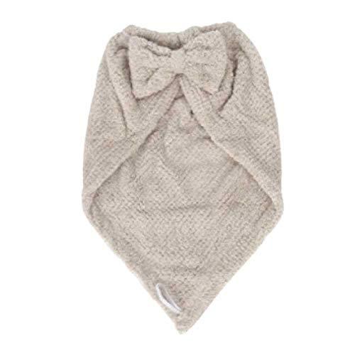 SHUIZAI SHUIZAI Shower cap Frauen Schnelltrocknende Haarkappe Dusche Kappen Weich Absorbert Twist Turban Ananas Haarwickel Hut Khaki - hosen -