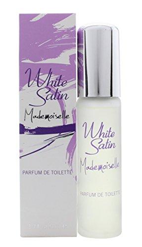 Blanc satiné Mademoiselle de parfum de toilette, 50 ml