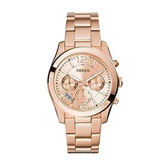 Fossil Perfect Boyfriend multifunción reloj de acero inoxidable
