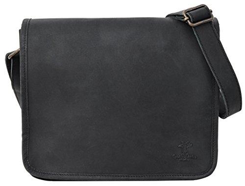 Gusti Leder studio borsa a tracolla borsa a spalla in pelle di bufalo borsa tablet 9.7