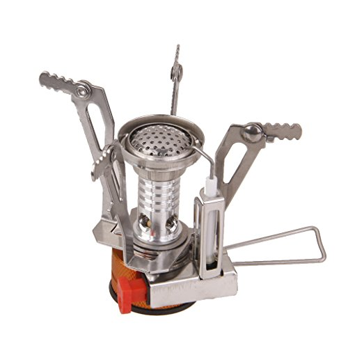 Generic Imported Ultralight Backpacking Gas Butane Propane Canister Outdoor Camp Stove Burner