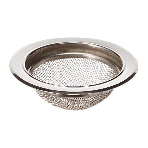 Skywalk Stainless Steel Sink Strainer Kitchen Drain Basin Basket Filter Stopper Sink Drainer