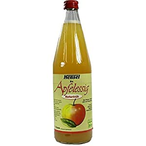 HENSEL Apfelessig naturtrüb Bio 750 ml Flüssigkeit