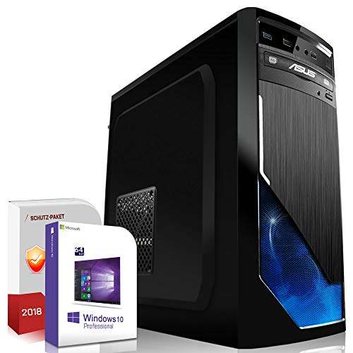 Multimedia Gaming PC AMD FX-8350 8x4.2GHz Turbo |ASUS Board|16GB DDR3|120GB SSD+1000GB HDD|Nvidia GTX1050Ti 4GB 4K HDMI|USB 3.0|SATA3|Windows 10 Pro|Made in Germany|3 Jahre Garantie