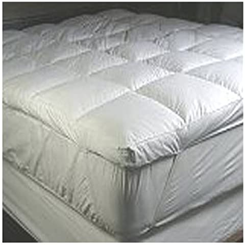 Deluxe Home King Size Goose Feather Mattress Topper by Home