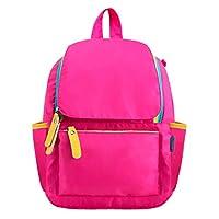 Kids Backpack Children Bookbag Preschool Kindergarten Elementary School Travel Bag for Girls Boys (1530 hotpink, Small)