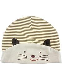 Per Tappi Baby Cotone Cappello con paraorecchie per Inverno Autunno Beige bac0e36f22e0