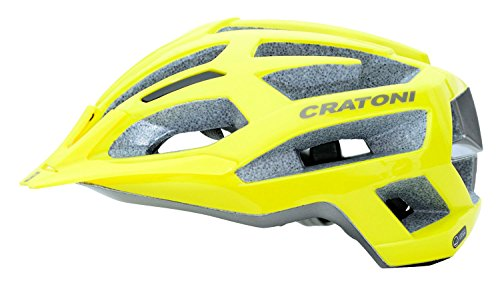 MTB Helm Cratoni C-Flash, yellow-anthracite glossy, Gr. S/M