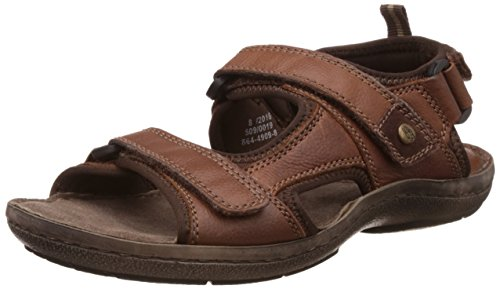 Hush Puppies Men's New Decode Sandal Leather Athletic & Outdoor Sandals Sandals & Floaters at amazon