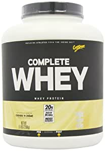 CytoSport Complete Whey Protein, Cookies and Creme, 5 Pound