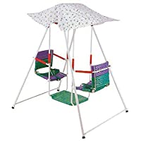 Swings for Children with Umbrella, Multi Color