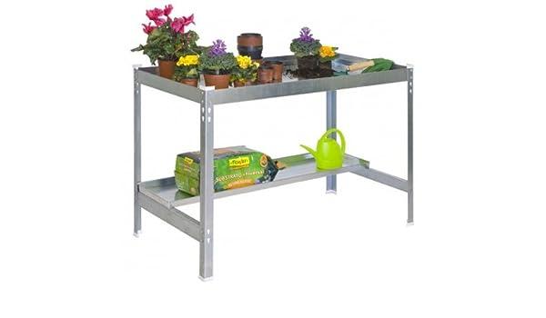 Pflanztisch Gartentisch 84x90x60cm 400kg inkl Ablagefläche Rückenschonend