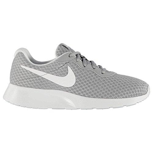 Nike Tanjun Scarpe da donna grigio/bianco palestra, Fitness, Ginnastica, Grey/White, (UK6) (EU40) (US8.5)